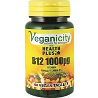 Vitamín B12, 1000 µg, 90 tablet