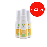Vitashine sprej. Vitamín D3 1000 iu, 20 ml, sada 3 ks se slevou 22 %