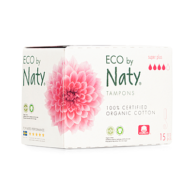 Eco by Naty tampóny Naty 3