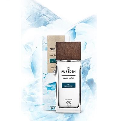 Eau de Parfum Bio EAU DES FJORDS pro muže, 50 ml