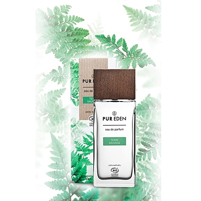 Eau de Parfum Bio TERRE SAUVAGE pro muže, 50 ml