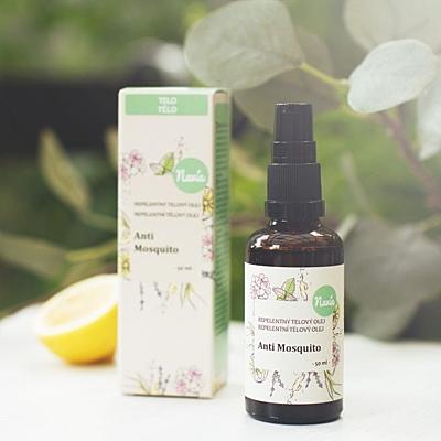 Repelentní tělový olej - anti mosquito, 50 ml