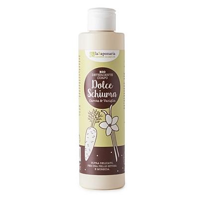 Sprchový gel Sladká pěna - vanilka a karotka, 200 ml