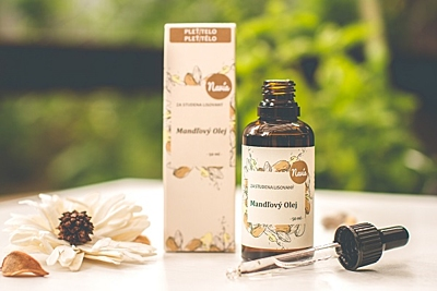 Mandlový olej, 50 ml