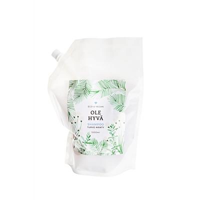 Šampon Rašelina + Borovice, náhradní náplň, 1000 ml