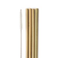 Bambusové brčko, 4 ks