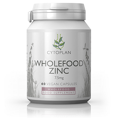 Wholefood Zinek, 60 kapslí